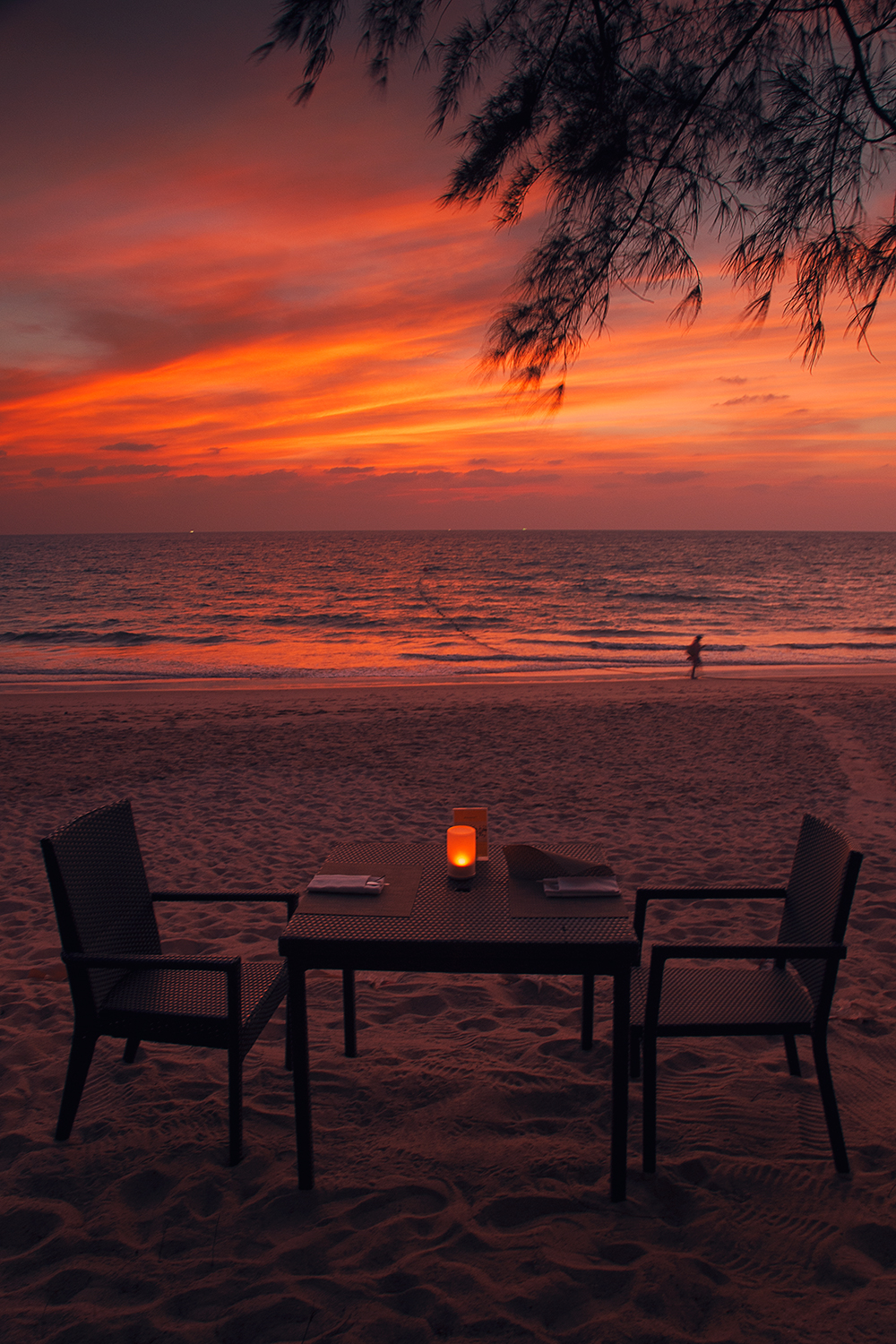 Table and the Sunset