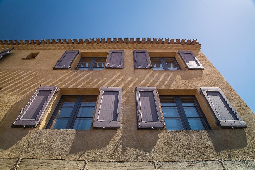 Four Shuttered Windows