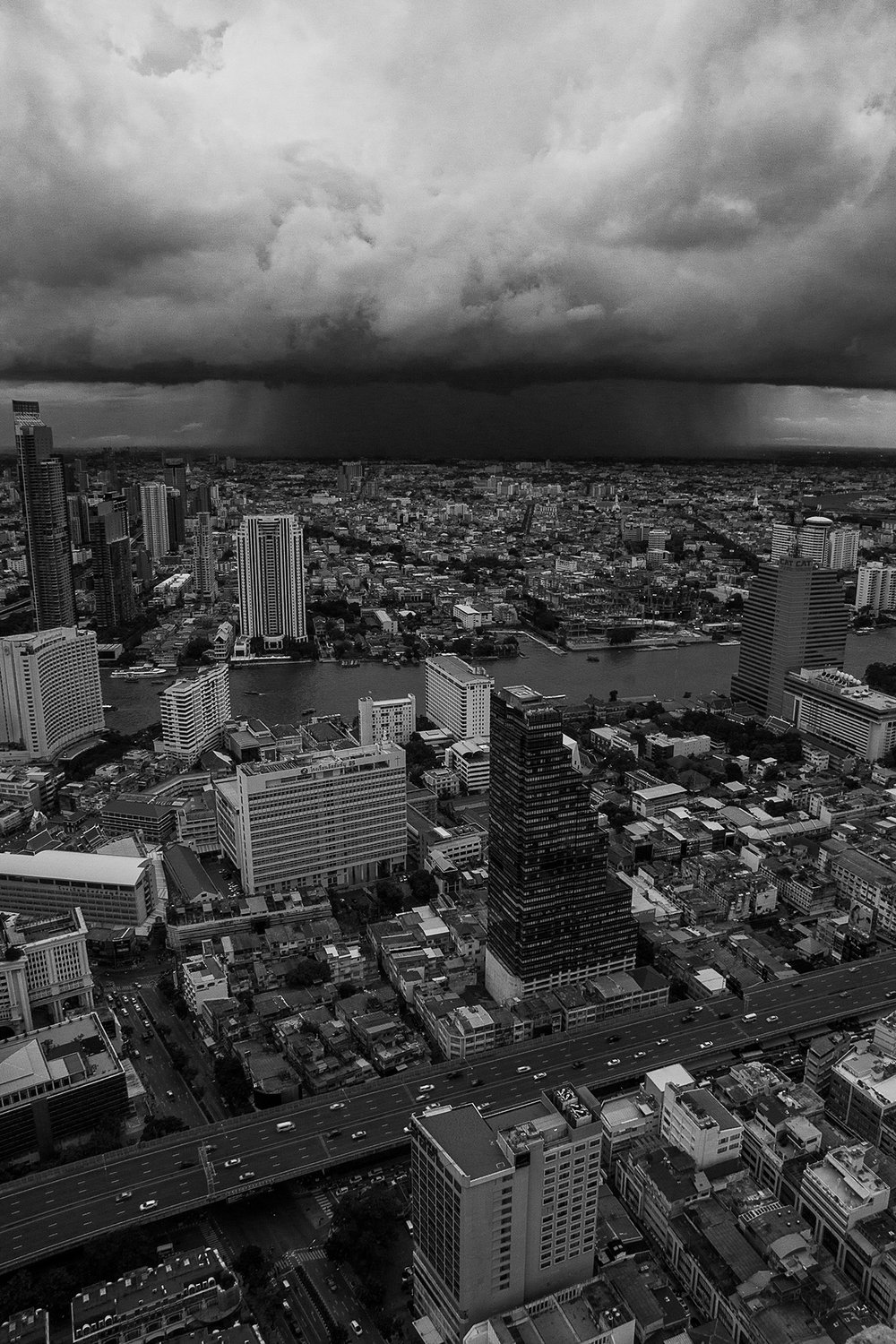 Storm in Black and White