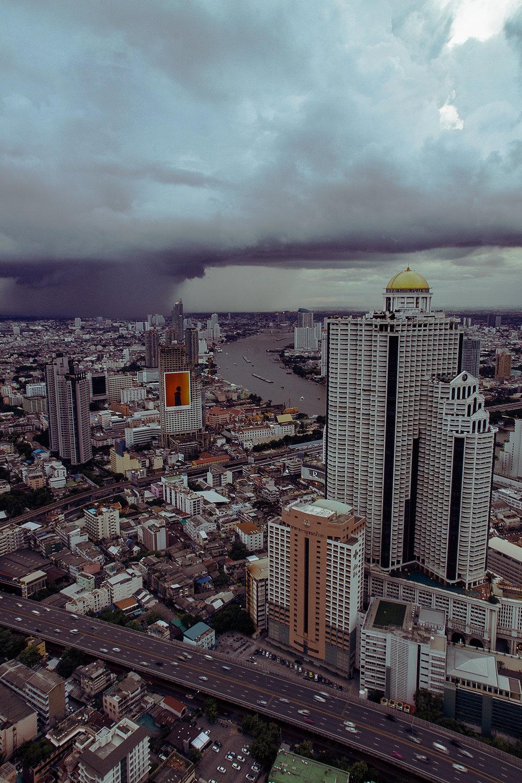 Storm over Bangkok