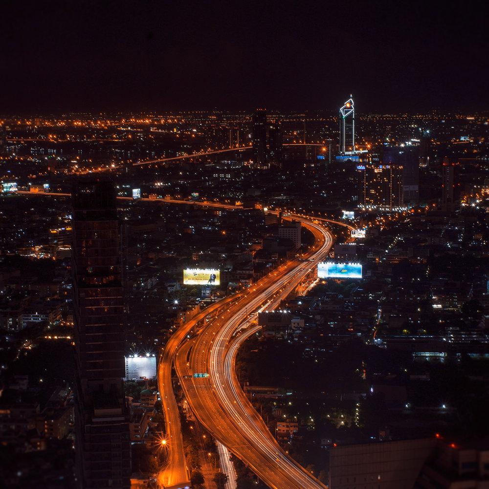 Bangkok at dark