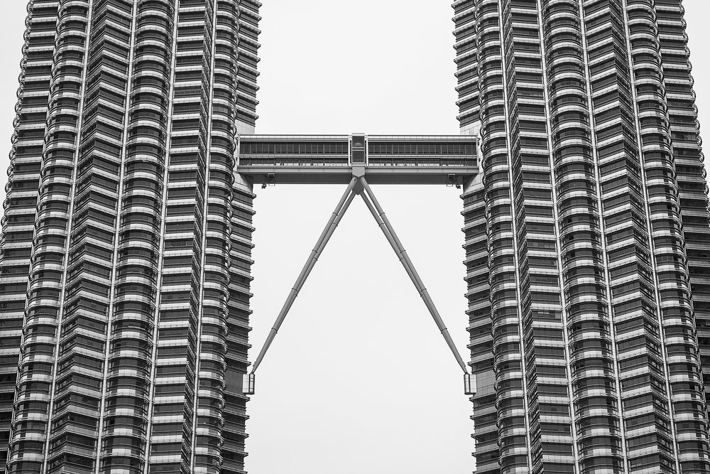 Petronas Black & White