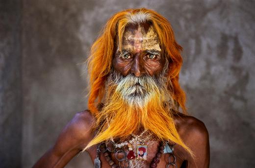 Steve McCurry.