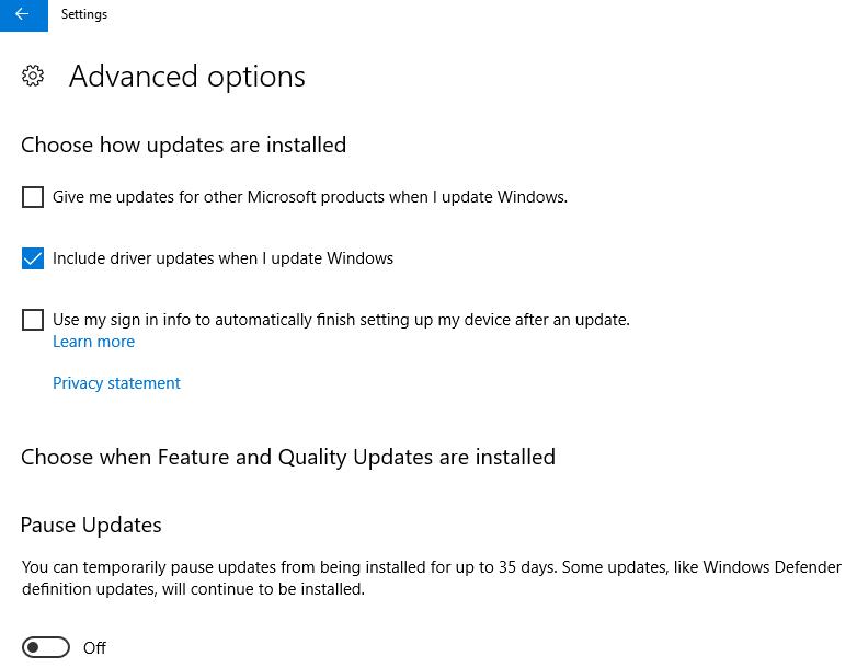 More Control. Screenshot of an upcoming update.