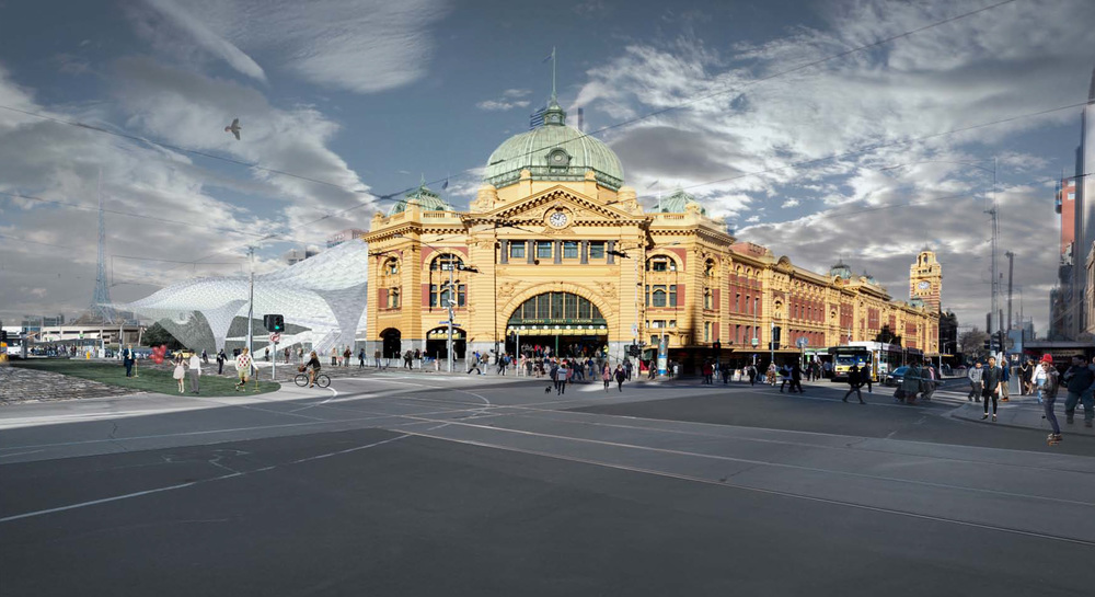 FLINDERS STATION INTERNATIONAL COMPETITION