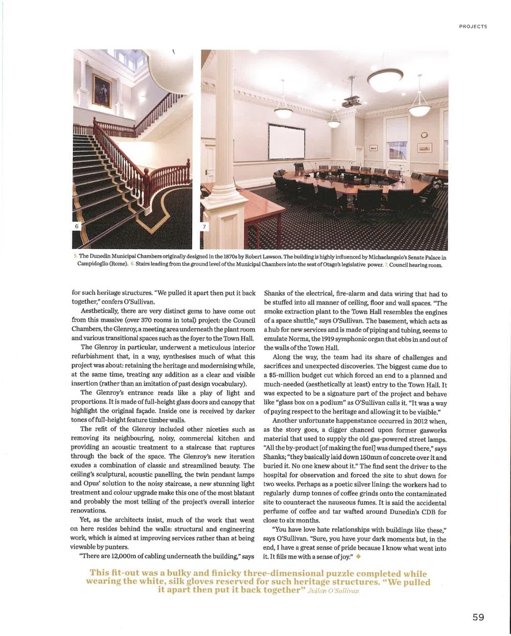 Dunedin Town Hall - Interiors Article Dec - Feb 2014 - 2015_6.jpg
