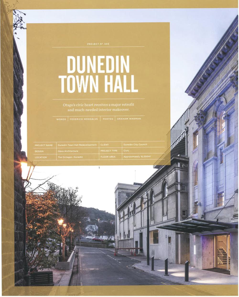 Dunedin Town Hall - Interiors Article Dec - Feb 2014 -2015_1.jpg