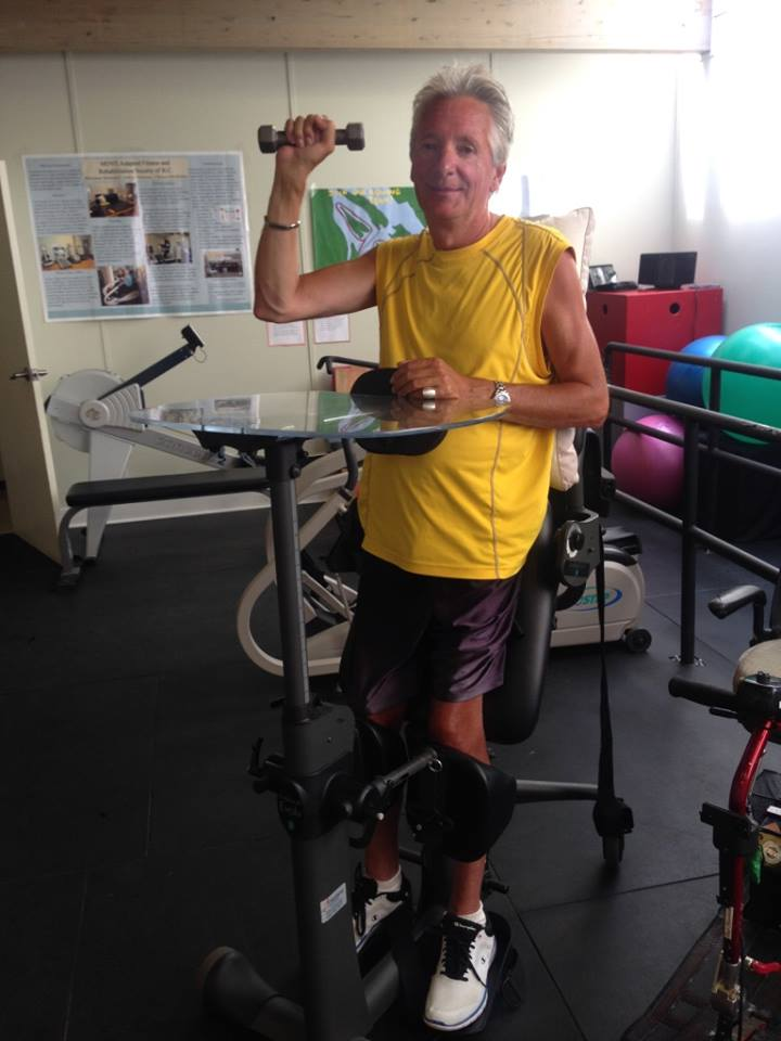 Meet Ralf! - How long have you been coming to MOVE? Over 4 years!What do you like best about MOVE? All of the amazing volunteers. The accessibility.What positive changes have you noticed in your life since starting at MOVE? Keeping existing movements toned and functional, and keeping a routine.What is your favourite way to move? The NuStep, the standing machine, and the paramount.