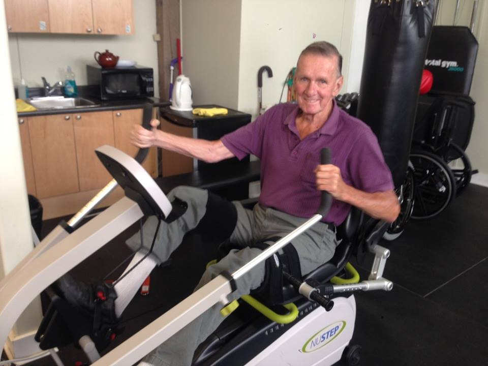Meet Don! - How long have you been coming to Move?About 8 months.What do you like best about Move?Convenience of being able to come in and workout whenever you want, no need for an appointment. I like being able to experiment with exercises/difficulty.What positive changes have you noticed in your life since starting at Move?Increase in ability to walk within parallel bars and an increase in resistance on the Nustep - both great signs of physical improvement!What's your favourite way to move?Parallel bars and Nustep.