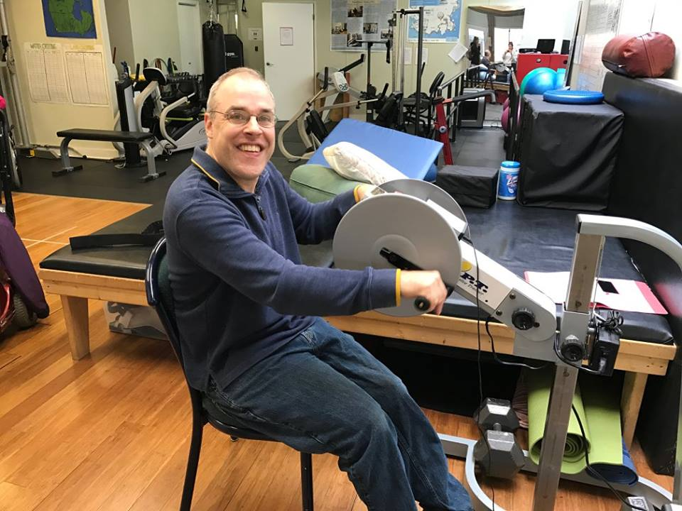 Meet Scott! - How long have you been coming to Move?4 monthsWhat do you like best about Move?The volunteers put up with me :) What positive changes have you noticed in your life since starting at Move?Increased mobilityWhat's your favourite way to move?Active Passive Trainer (APT)