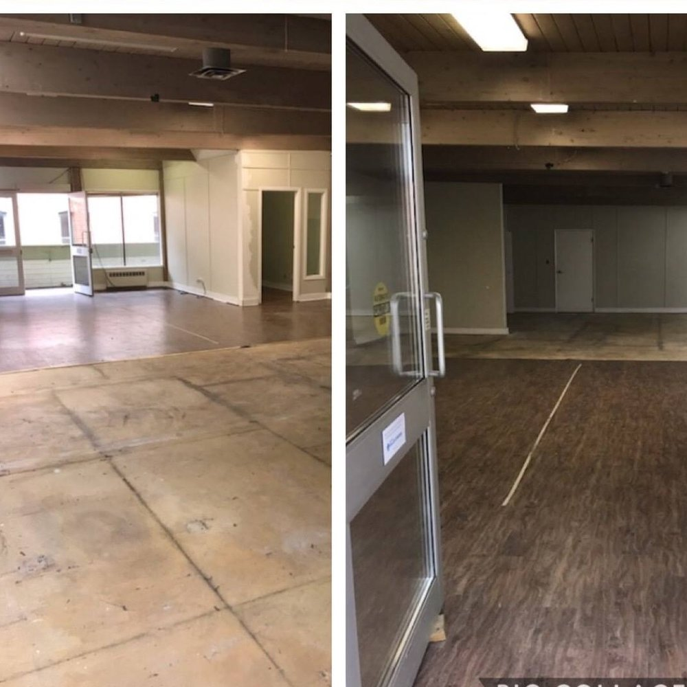 Everything moved out of MOVE's previous Yates St. location.