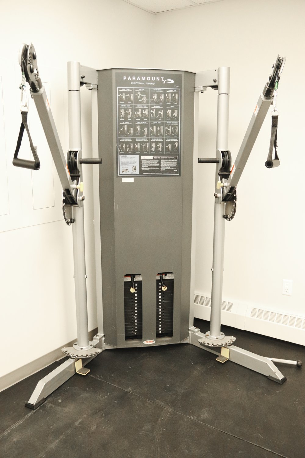 paramount - This machine allows individuals to engage in resistance training within their unique range of motion.