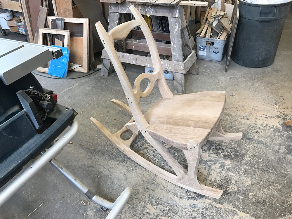 the chair in its final form