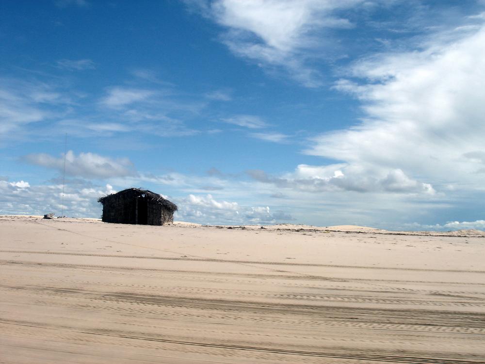 Refúgio escondido nas dunas