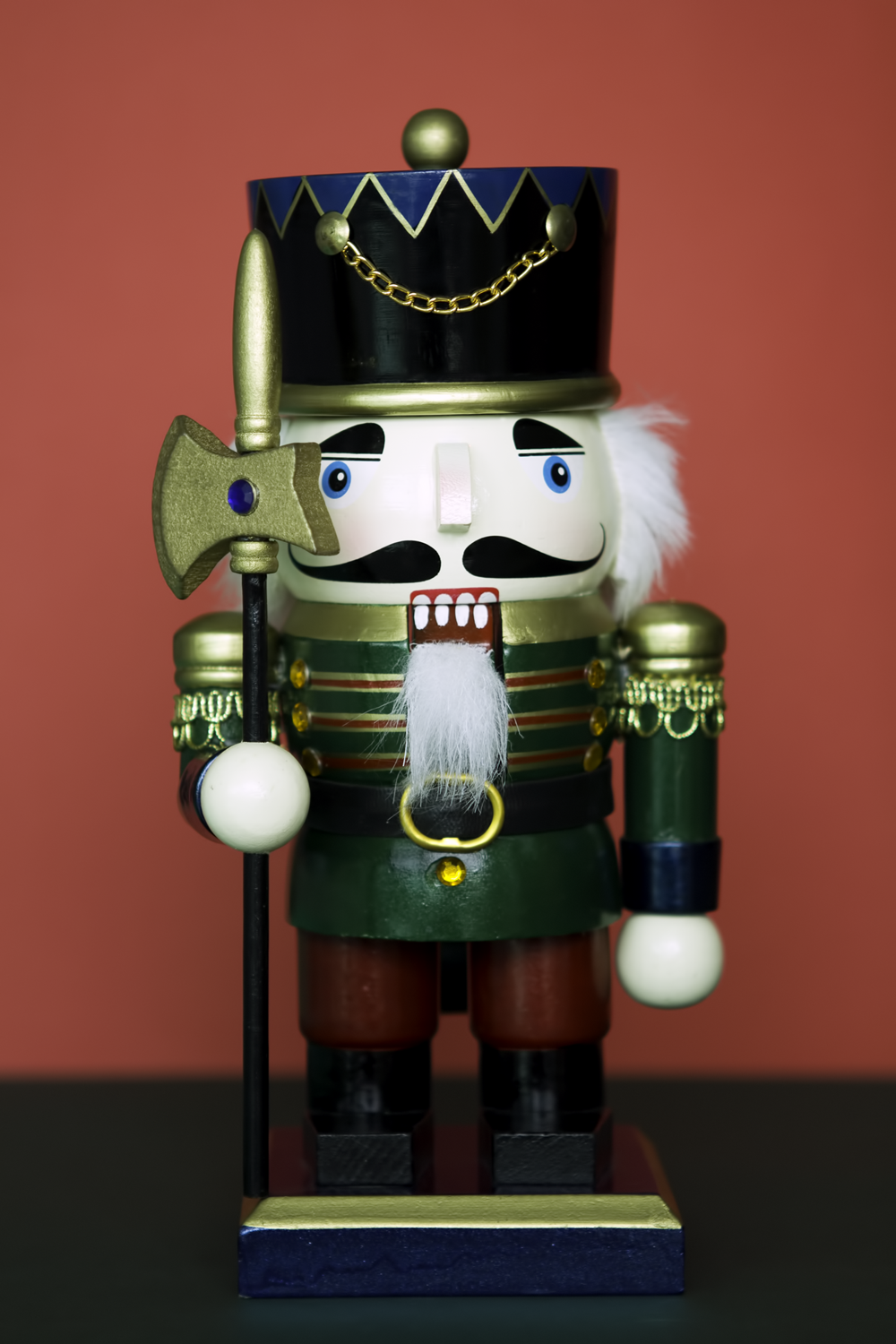 Nutcracker soldier, reveillon 2011-12
