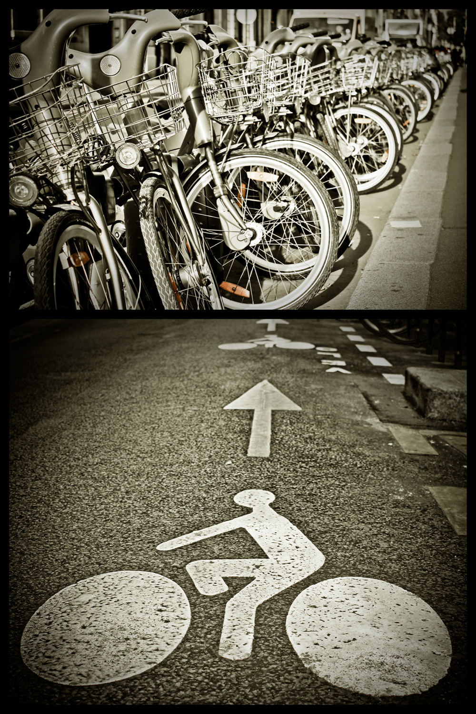 Bike diptych