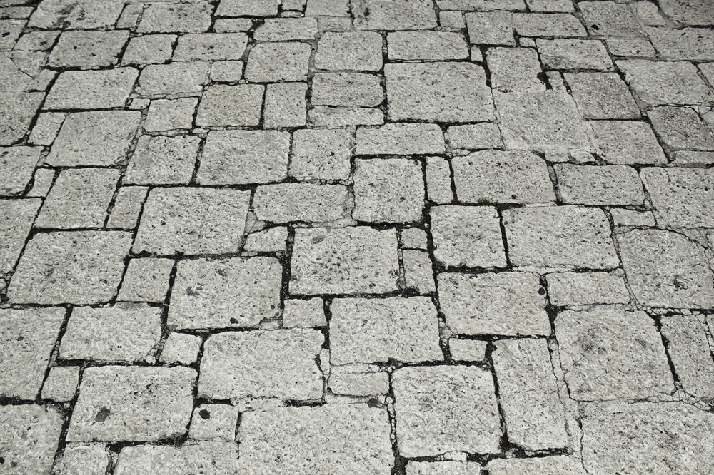 Chão de pedra