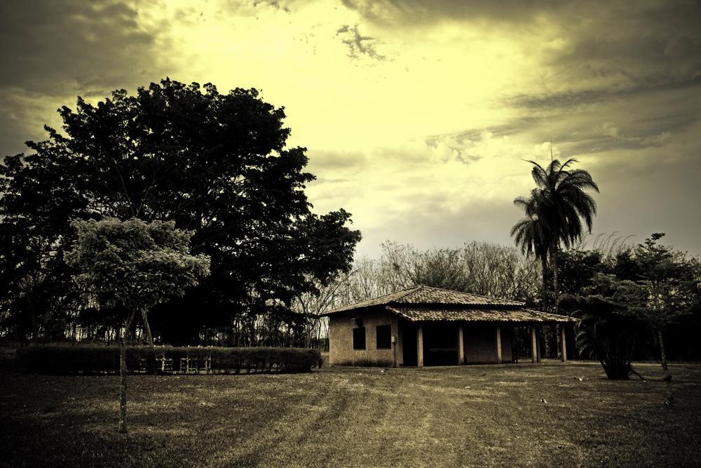 Uma cabana, uma lenda, um fantasma