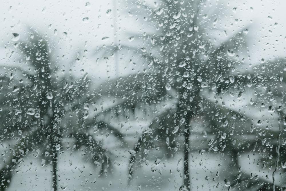 Rio com chuva