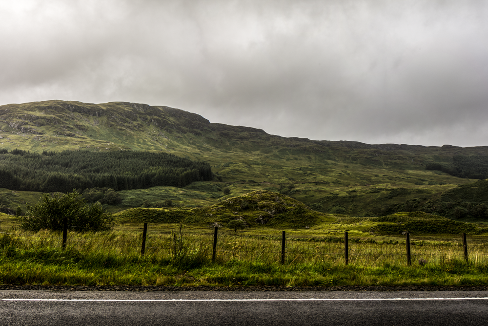 On the way to the Highlands, 2