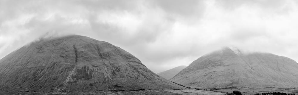 Morros no caminho de Inverness