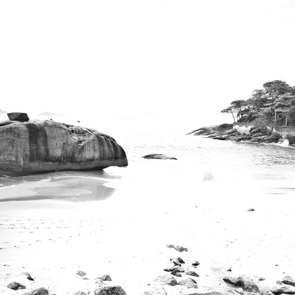 Pedra e água, bw