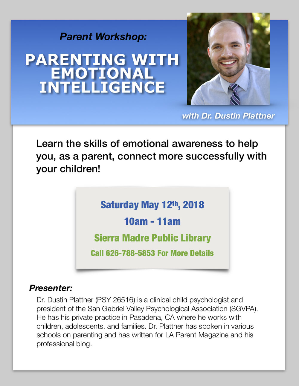 Parenting with Emotional Intelligence - Dr. Plattner.jpg
