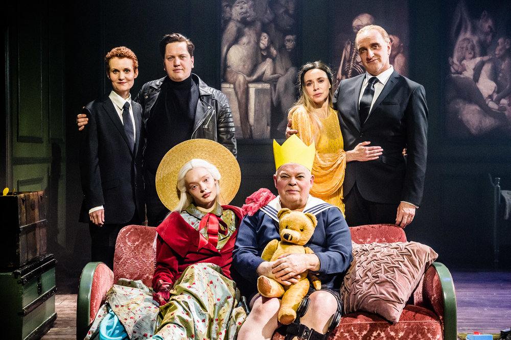 Lena Jacobsen Kvitvik, Rune Storsæther Løding, Kirsti Eline Torhaug, Svein Harry Schöttker Hauge, Agnes Born and Sven Henriksen