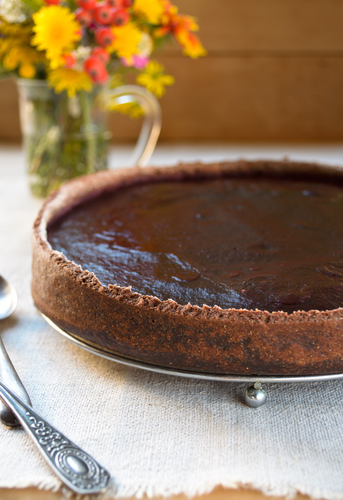 Gluten Free Dark Chocolate Tart