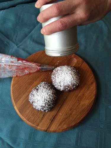 Homemade Jelly Doughnuts (Sufganiyot)