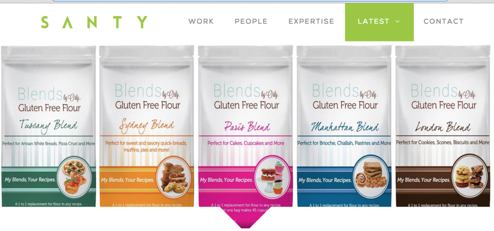 Santy.com writes about Blends by Orly Gluten Free Flour