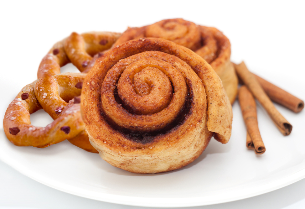 Gluten Free Chocolate Chip Cinnamon Scroll