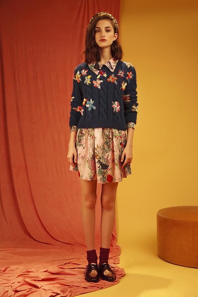 Vestido ELLA + Sweater FIONA