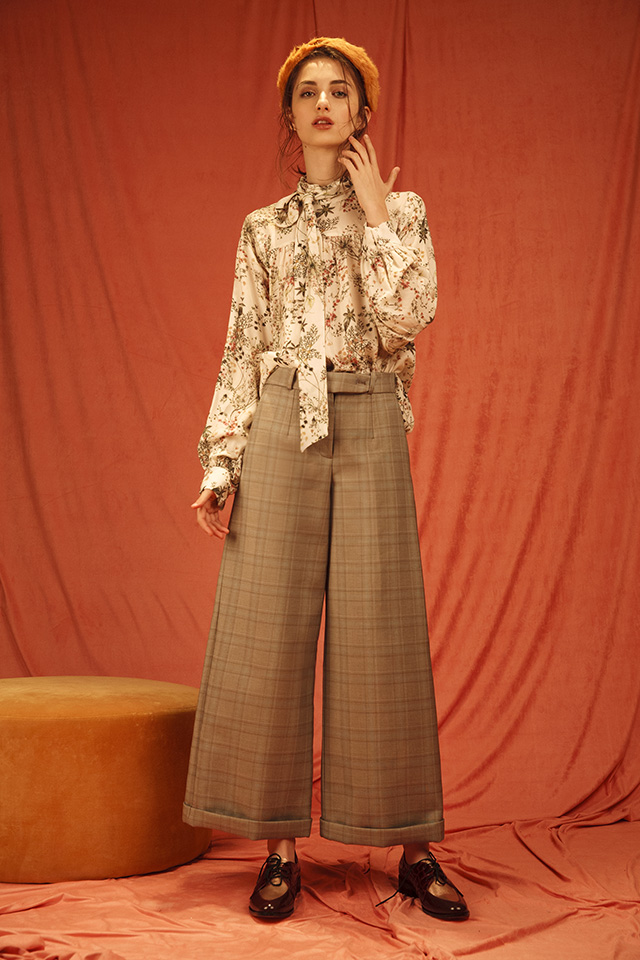 Blusa ADALBERTA + Pantalon MARIA