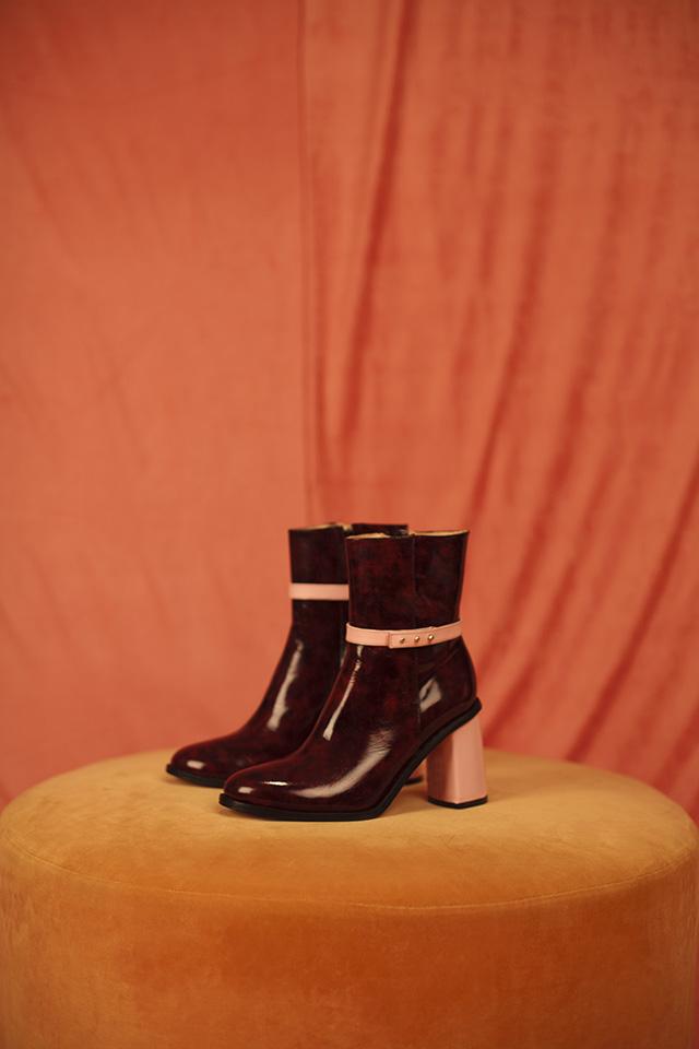 Botas ESTER colaboración con Jessica Kessel Shoes