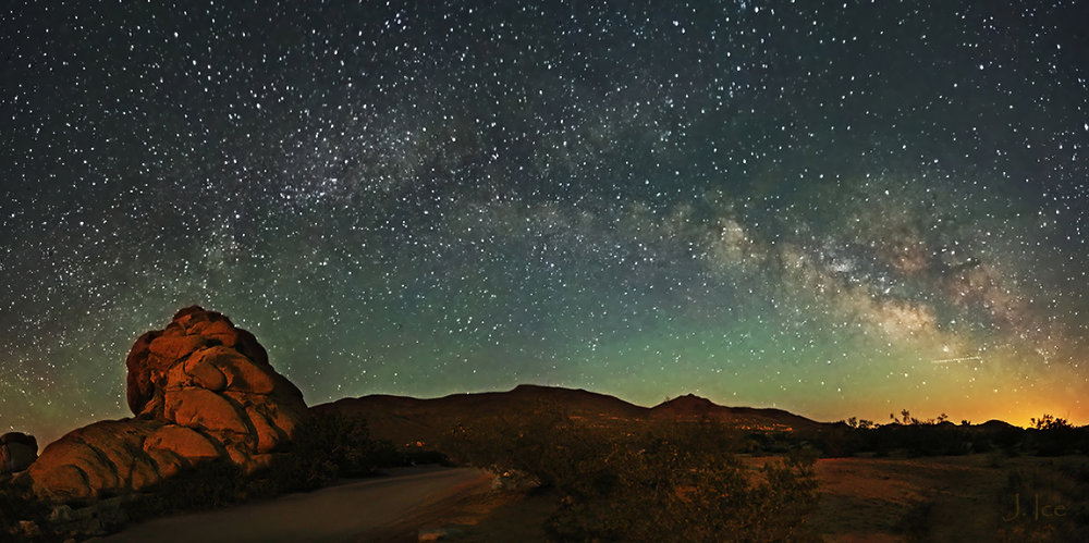 The Sky Over Joshua Tree (Courtesy: Suli Yuan)