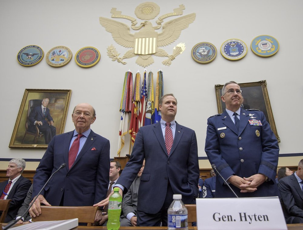 June 22, 2018 Congressional Hearing on Space Situational Awareness (Courtesy of  NASA )
