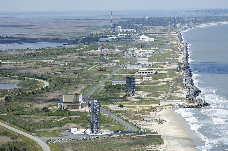 The Mid-Atlantic Regional Spaceport (MARS) ( courtesy of Robert Sullivan )