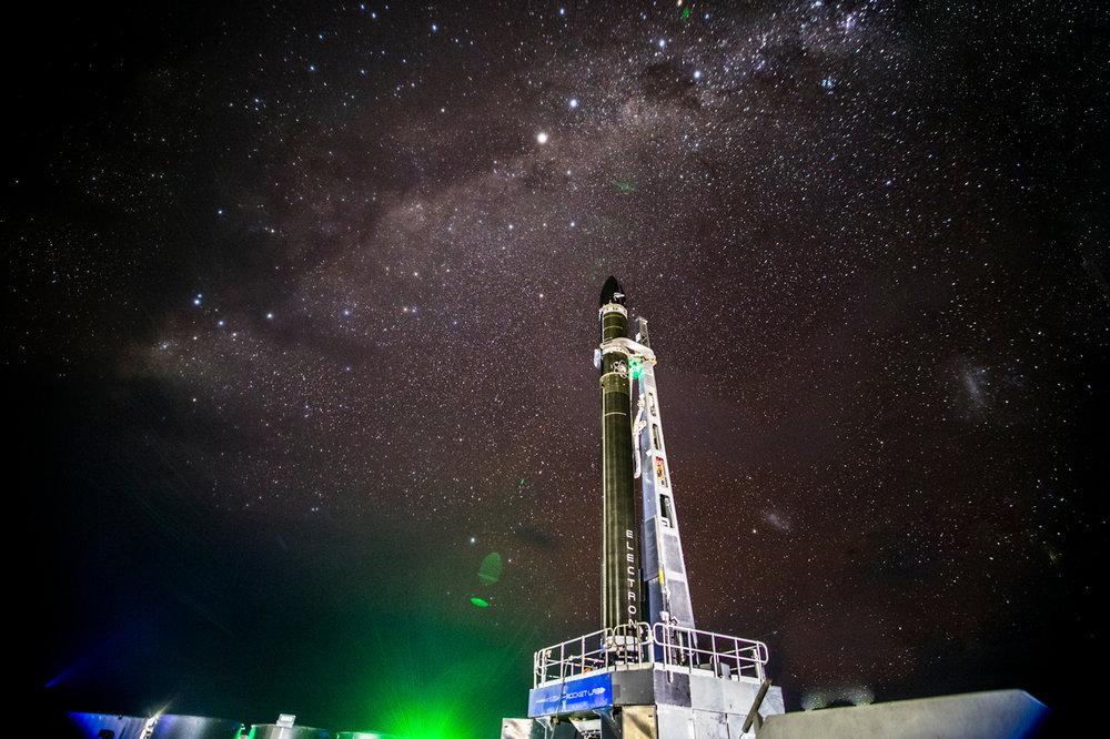 Rocket Lab Launch Complex 1 (Courtesy:  Rocket Lab USA and Kieran Fanning )