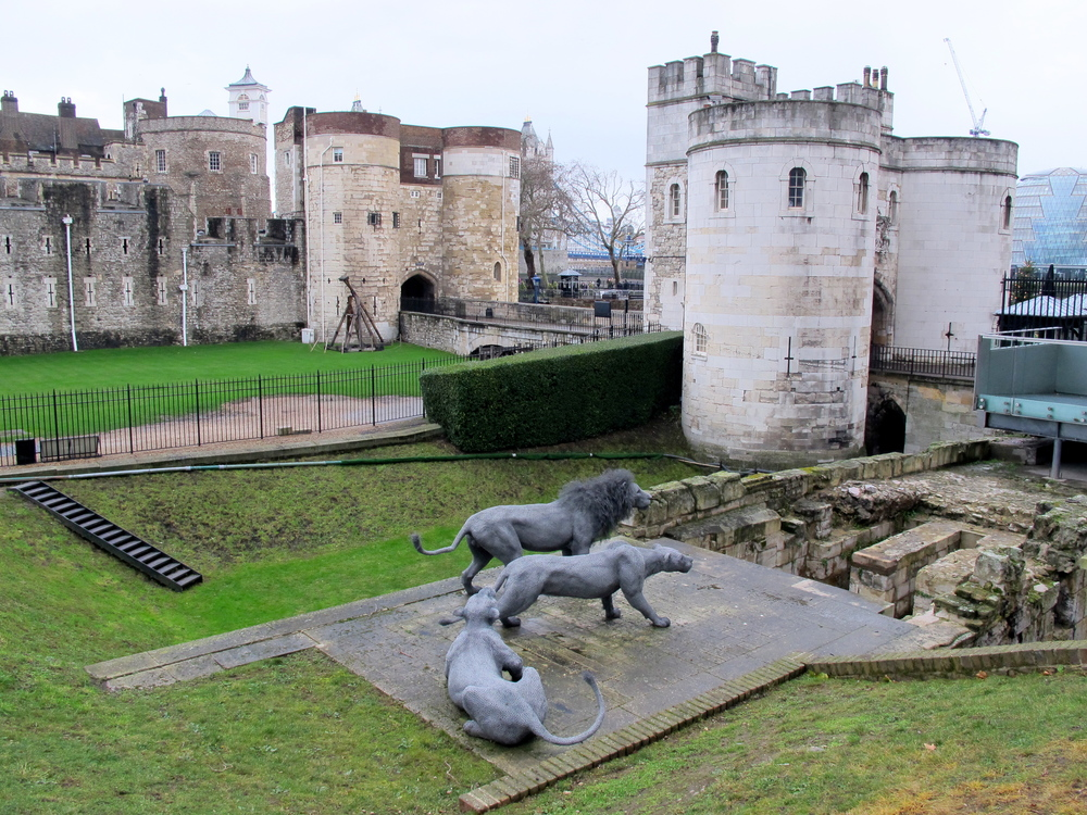 Menagerie at Tower of London