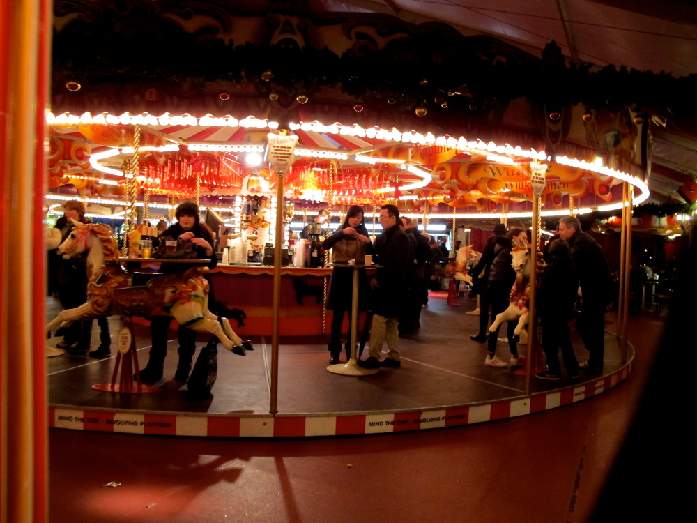 Carousel Bar, Winter Wonderland