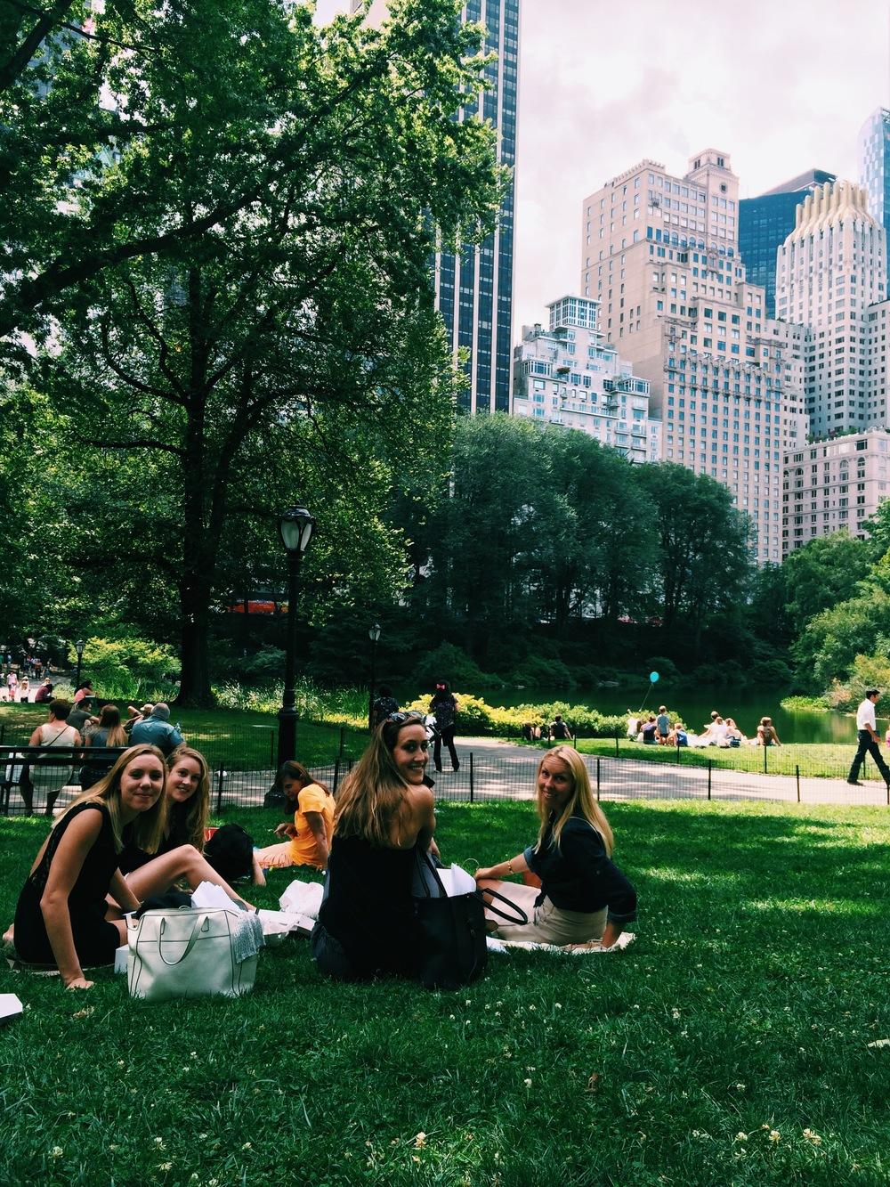 Picnic in Central Park!