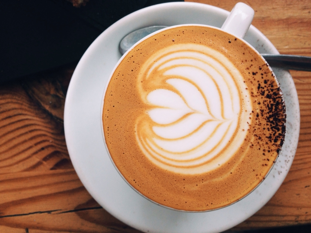The elusive latte.