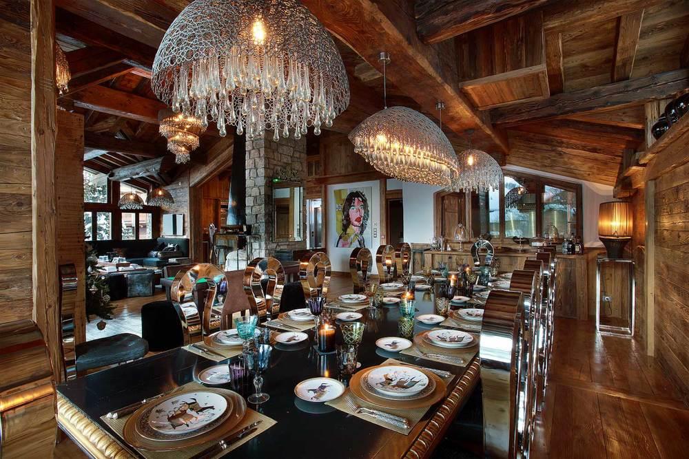 Top 10 Designer Alpine Chalets Art De Vivre Luxury