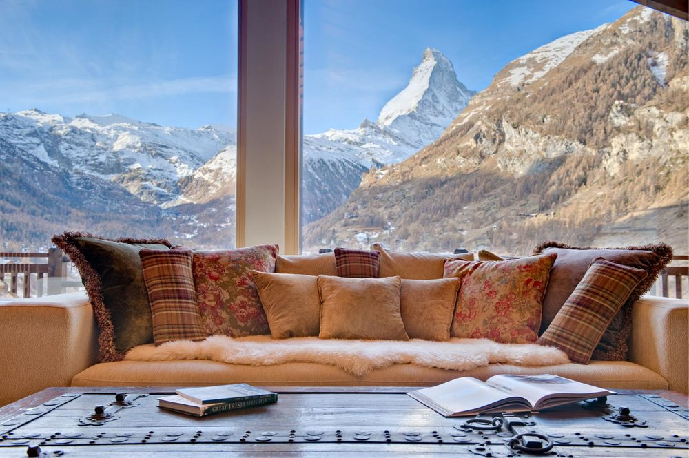 chalet grace matterhorn views zermatt rental