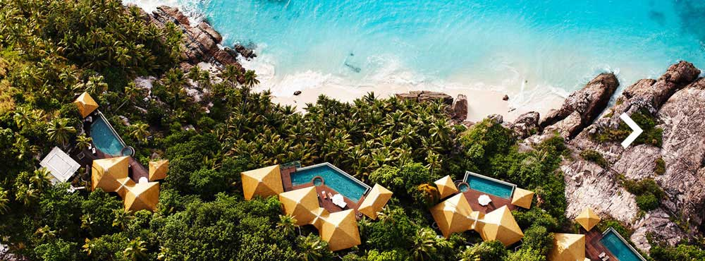 Fregate Island  , Seychelles, Indian Ocean  Sleeps 6+, 3 - 48 Bedrooms, Private Spa, Stunning Beach, Private Pool    View Villa