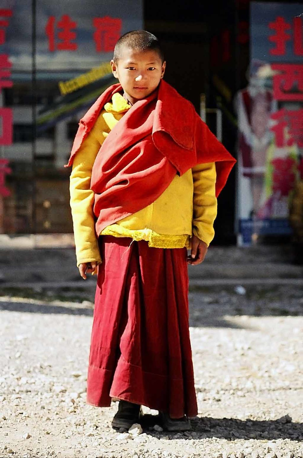 The Young Monk, China
