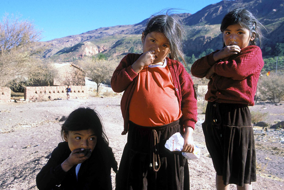 Mountain Girls, Bolivia