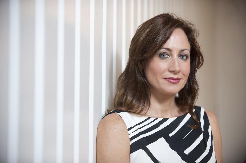 Corporate headshot of a business women in London