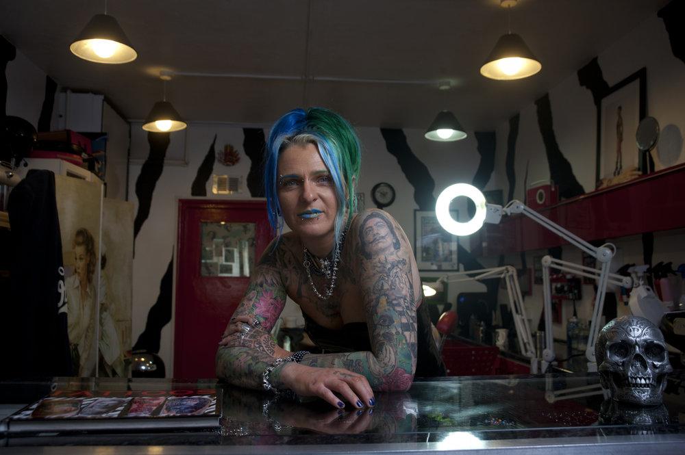 Edyta, The Tattooist